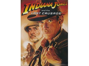 Indiana Jones  The Last Crusade  DVD SPECIAL EDITION 1989 Harrison Ford