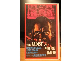 Sadist Of Notre Dame, The - Dutch, Phoenix Home Video, VHS