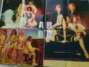 ABBA 2-side original  Poster