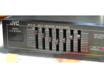 JVC SEA-12 S.E.A GRAPHIC EQUALIZER i fint skick !