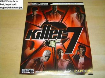 GUIDE WALKTHROUGH KILLER 7 BRADY GAMES *NYTT*