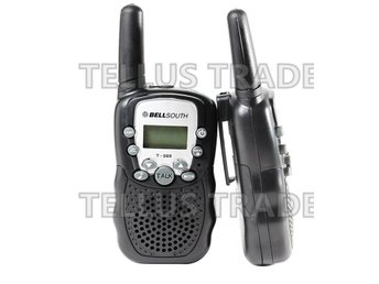 2st Mini Walkie Talkie UHF AAA Batterier 0.5KW 7kmkm räckvidd
