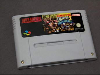 Donkey Kong Country 2 - Diddys Kong Quest SNES Super Nintendo PAL