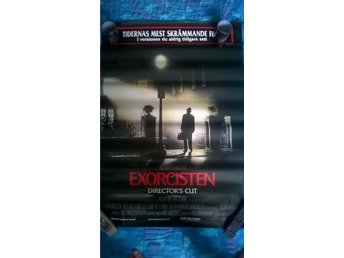 Exorcisten Blair witch project poster skräck tremors affisch 70x100
