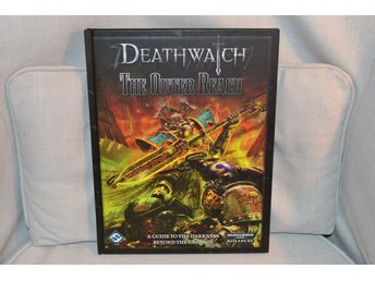Deathwatch The Outer Reach (WH 40K Rollspel RPG) FF Beyond the Crusade Bok Ny