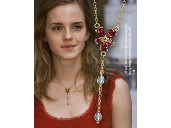 Harry Potter Halsband Hermione Red Crystal