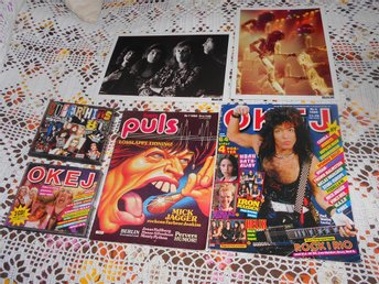 OKEJ CD TIDNING SUPERHITD CD LIVETS PULS RETRO