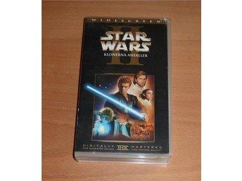 VHS-film * STAR WARS – KLONERNA ANFALLER * i fint skick - Höllviken - VHS-film * STAR WARS – KLONERNA ANFALLER * i fint skick - Höllviken