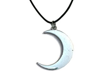 Choker/Halsband Måne Crescent Moon Wicca Pagan - 31 cm