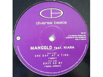 Mangold Feat. Niara title*  One Day At A Time / Days Go By* Drum n Bass 12""
