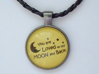 Love You to the Moon and Back Halsband / Necklace