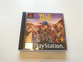 Playstation 1 Ps1 - Wild arms - Pal - NYTT
