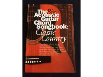 The Big Acoustic Guitar Chord Songbook,Classic Country