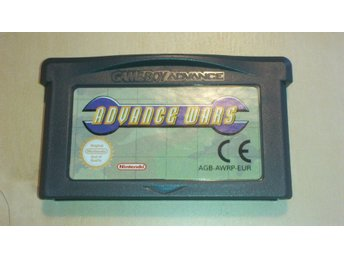 Nintendo Advance SP spel ADVANCE WARS