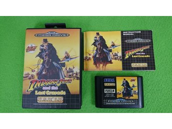 Indiana Jones and the Last Crusade KOMPLETT Sega Megadrive