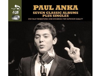 Anka Paul: 7 classsic albums plus 1958-62 (Rem) (4 CD)