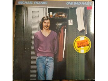 Michael Franks - One Bad Habit, LP