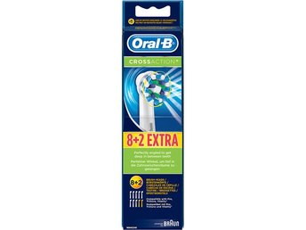 Oral B Reservborste CrossAction 8+2