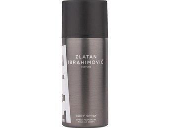 Nyhet Zlatan Ibrahimovic body spray  Fashion KMCM Design Rea present