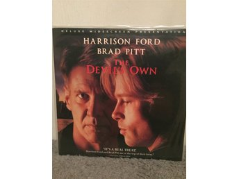 The devils own US LASERDISC  Harrison Ford Brad Pitt