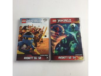 LEGO Ninjago: Masters of Spinjitzu, TV-serie, DVD, Barn