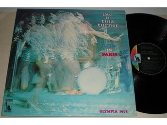 Ike & Tina Turner D-Lp Live in Paris 1971 VG++