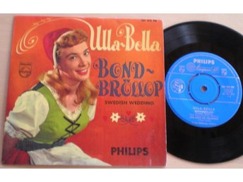Ulla-Bella EP/PS Bondbröllop 1960