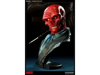 Red Skull Legendary Scale Bust Sideshow MIB