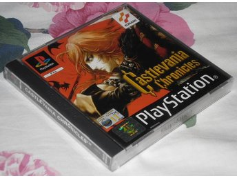 PlayStation/PS1: Castlevania Chronicles - tomfodral (EJ SPEL!!!)