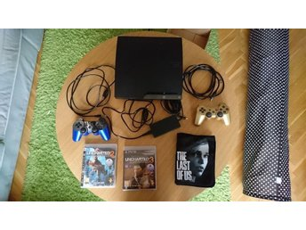 Playstation 3/ Last of us, uncharted 2-3