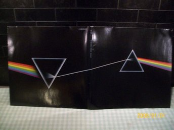 Pink Floyd the dark side of the moon med plansch