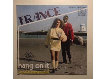 "7"" Trance - Hang on it 82 Germany Synthpop Disco"
