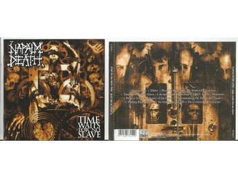 NAPALM DEATH - Time Waits For No Slave (CD 2009) - Moscow - NAPALM DEATH - Time Waits For No Slave (CD 2009) - Moscow