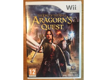 The Lord of the Rings - Aragorn's Quest, Wii spel, Sagan om ringen, Tolkien