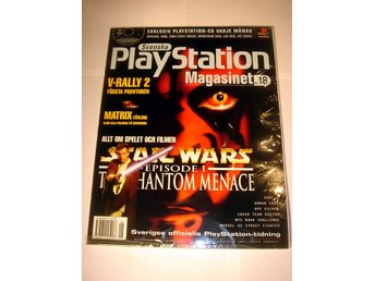 PLAYSTATION 18  NY CD  6/1999  STAR WARS  I ORIGINALPLAST