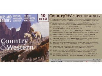 Country & Western, Hits and rarities, Div artister (10CD)