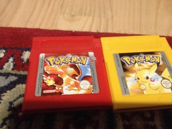 Pokemon Red & Pokemon Yellow