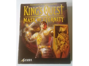 PC CD Big Box Kings Quest 8 Mask of Eternity