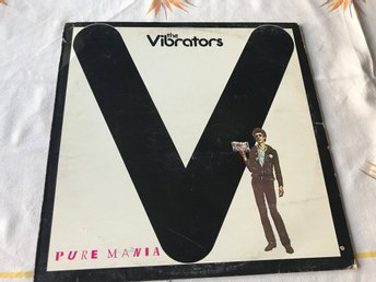 VIBRATORS THE - PURE MANIA LP 1977 PUNK