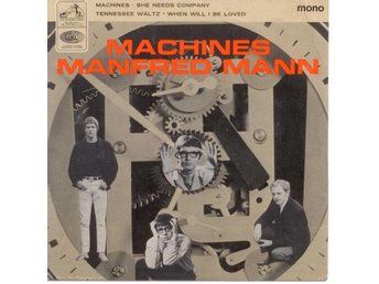 MANFRED MANN - Machines  EP  UK