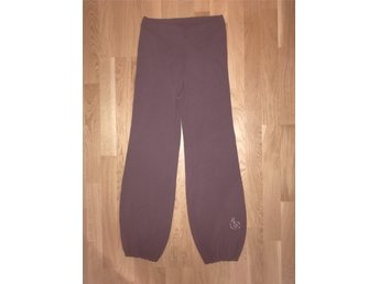 NANSO JOGGERS HAREMSBYXA BRUN STRASS retro vintage mode trend design exclusive