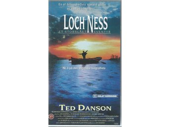 LOCH NESS - TED DANSON  (DANSK TEXT!-VHS FILM !!)