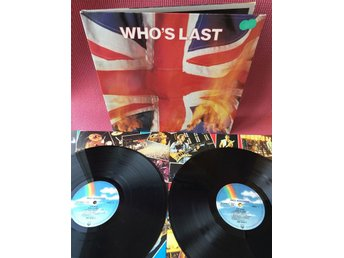 THE WHO - WHO'S LAST 2-LP MED INNER GATEFOLD