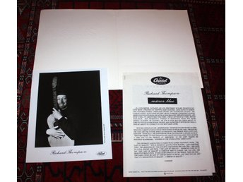 RICHARD THOMPSON Rare Portifolio Capitol PROMO Mirror Blue