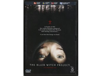 THE BLAIR WITCH PROJECT  -  DVD ***FRI FRAKT***