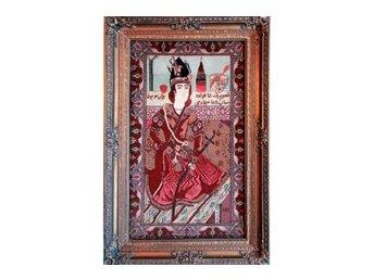 Antik Persisk matta(Handknuten)-Tabriz 85x50cm-600 000 knutar per m² - Viared - Antik Persisk matta(Handknuten)-Tabriz 85x50cm-600 000 knutar per m² - Viared