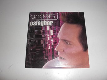 Anders J  -  Oslagbar  - CD Singel