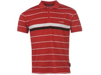 GOLF  Ram Stripe Golf Polo Herr MEDIUM