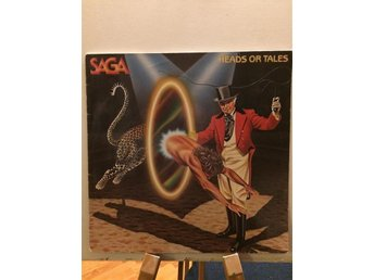 SAGA- Heads or tales- LP
