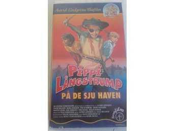"Video Astrids Lindgrens original ""Pippi Långstrump på de sju haven"""